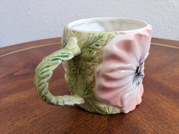 Omnibus Japan Hibiscus Flower Coffee Mug tea cup